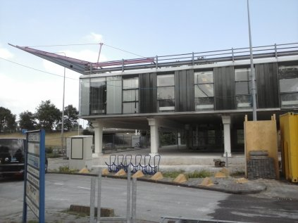 Bouwkeet in bestaande gebouw